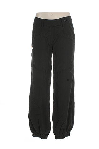 kana et beach pantalons et decontractes femme de couleur noir