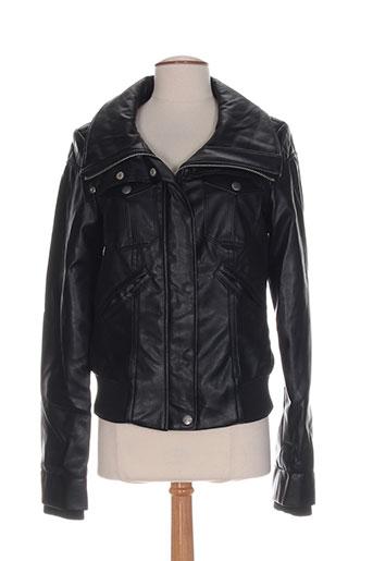 miss sixty vestes femme de couleur noir
