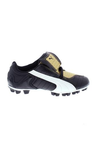 puma chaussures enfant de couleur noir