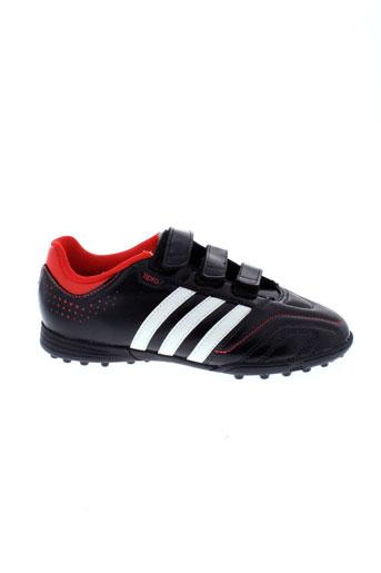 adidas baskets garcon de couleur noir