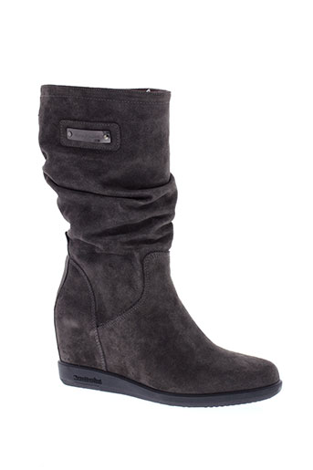 nero et giardini boots femme de couleur gris