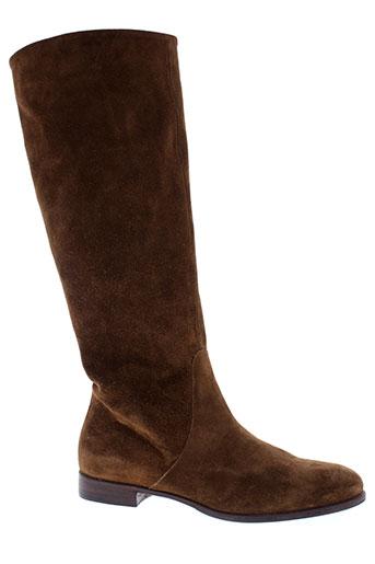 laboratorigarbo bottes femme de couleur marron
