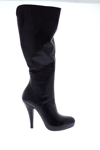vic bottes femme de couleur noir