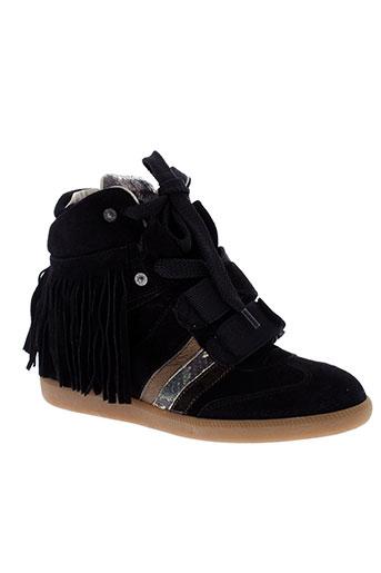 serafini baskets femme de couleur noir