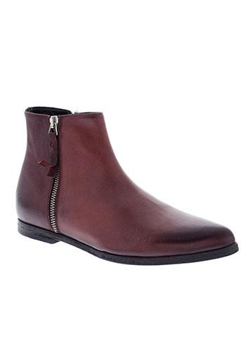 halmanera boots femme de couleur rouge