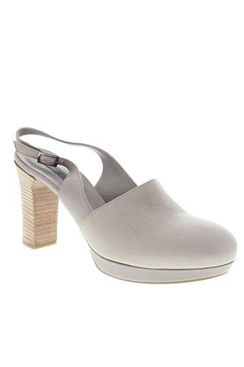 vic chaussures femme de couleur gris