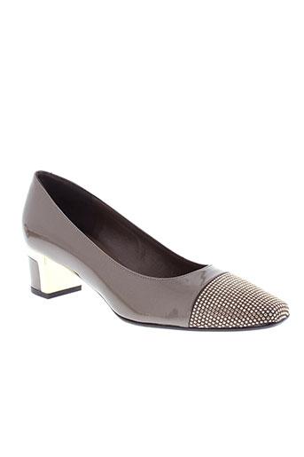 musella chaussures femme de couleur marron