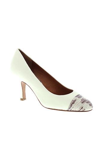 mugnai chaussures femme de couleur beige