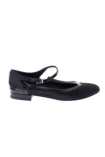 mugnai chaussures femme de couleur noir