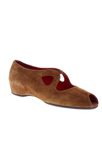 xavier chaussures femme de couleur marron
