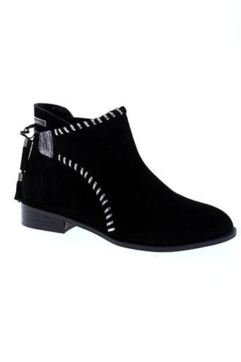 les et tropeziennes boots femme de couleur noir
