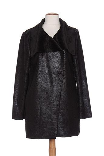 lm la maille vestes femme de couleur noir