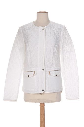 white label vestes femme de couleur blanc
