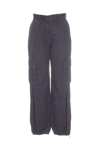health pantalons femme de couleur marron