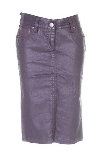 bray jupes femme de couleur violet