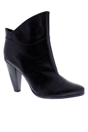 too et much boots femme de couleur noir