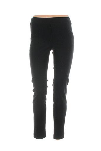 anne kelly pantalons femme de couleur noir