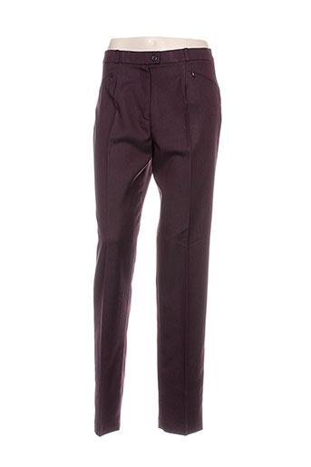 kelly pantalons femme de couleur violet