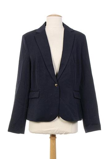 lulumary vestes femme de couleur bleu