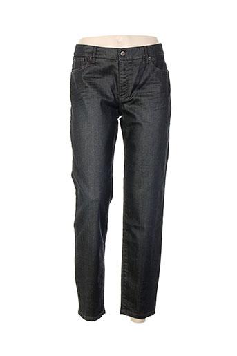 ikks jeans femme de couleur bleu