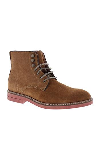 schmoove boots homme de couleur marron