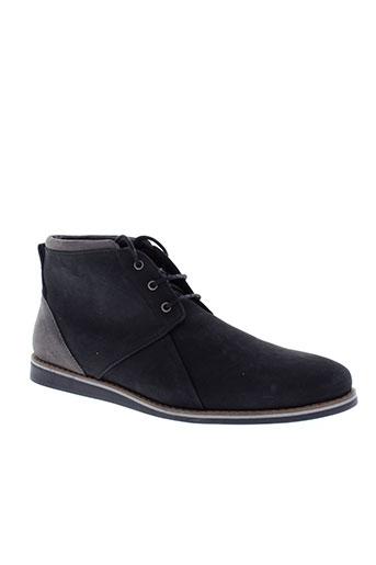 schmoove boots homme de couleur noir