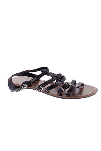 226 et shoes sandales et nu et pieds femme de couleur noir