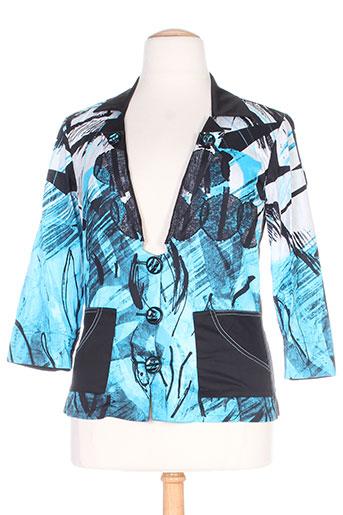 legatte vestes femme de couleur bleu