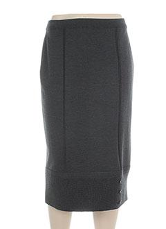 Jupe mi-longue gris PAUPORTÉ pour femme