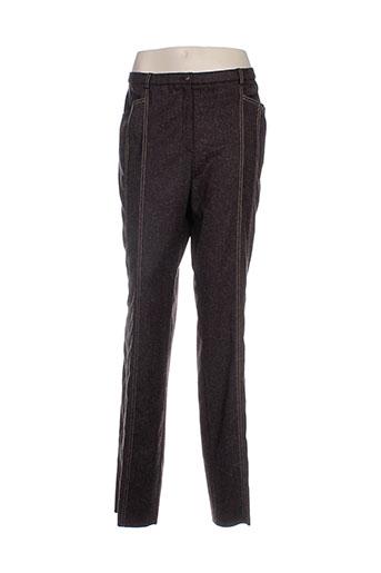 pauporte pantalons et decontractes femme de couleur marron
