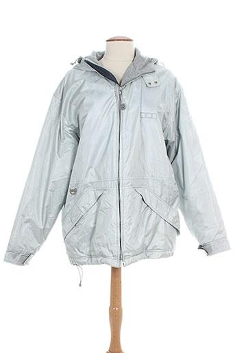 poivre blanc manteaux femme de couleur gris