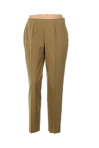 piazza sempione pantalons femme de couleur marron