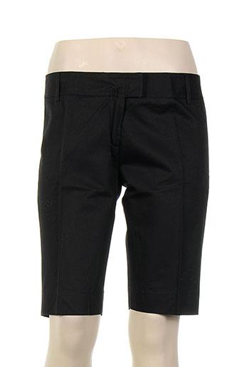 les petites... shorts et bermudas femme de couleur noir