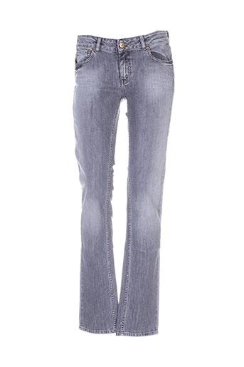 school rag jeans femme de couleur gris