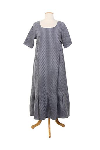 aurea vita robes femme de couleur gris