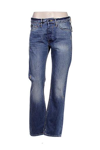 55 dsl jeans homme de couleur bleu