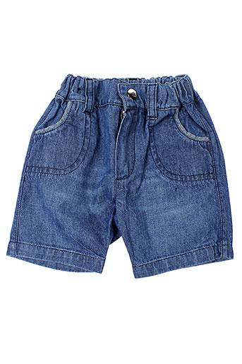 bulle de bb shorts / bermudas garçon de couleur bleu