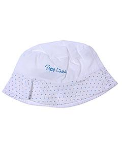 Chapeau blanc BULLE DE BB pour garçon