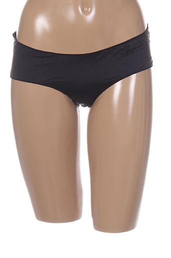 amoralia shortys et boxers femme de couleur noir