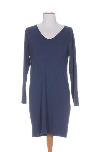 the masai clothing company tuniques femme de couleur bleu
