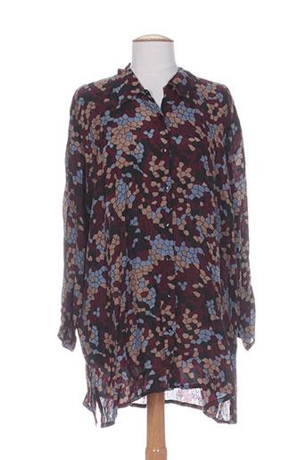 The Clothing Femme Company De Couleur Tuniques Violet Masai BqHFrB