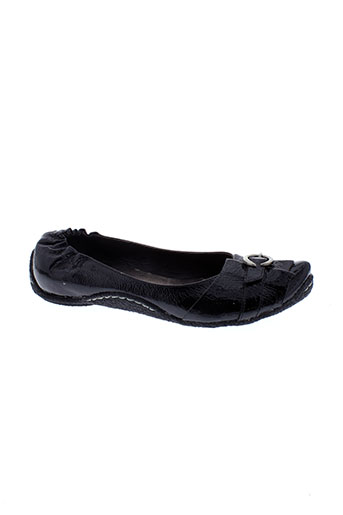 sans interdit chaussures femme de couleur noir