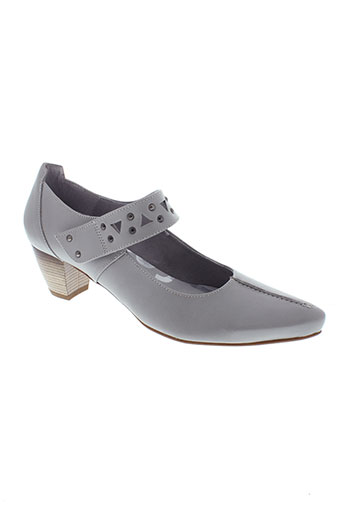 pomares vazquez chaussures femme de couleur gris