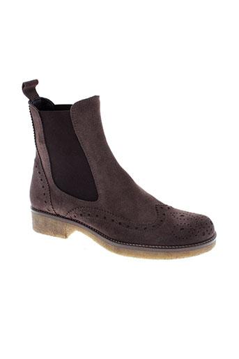 mally boots femme de couleur marron