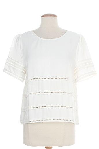 suncoo t et shirts et tops femme de couleur blanc
