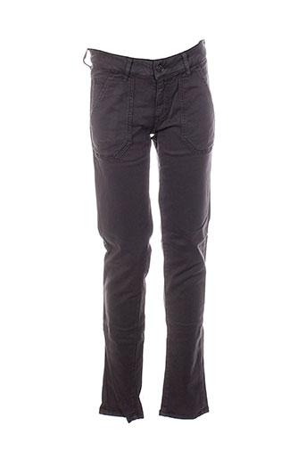 five pantalons femme de couleur marron