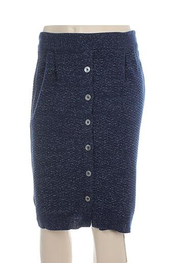 erotokritos jupes femme de couleur bleu