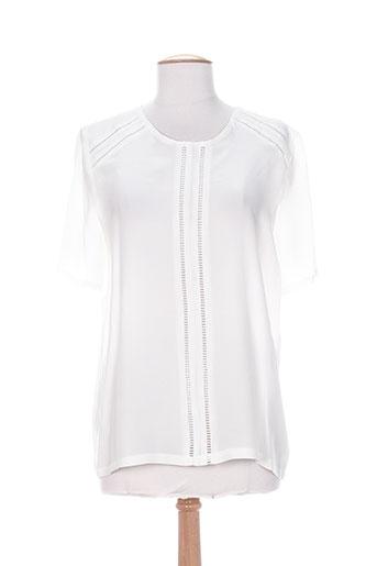 anna studio chemises femme de couleur blanc