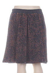 Jupe mi-longue bleu BY MALENE BIRGER pour femme seconde vue