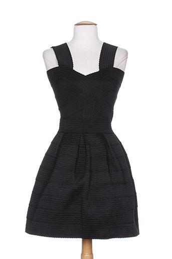 lm lulu robes femme de couleur noir